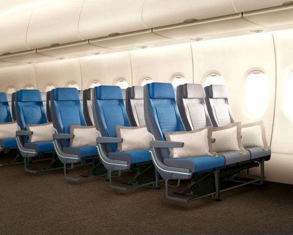 Economy Class A380 Singapore airlines 600x482 - IMAGENS: Singapore Airlines revela nova experiência de voo a bordo de seus A380