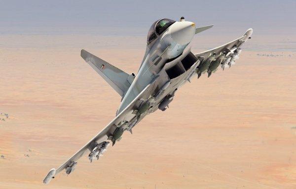 DQ6Nr19XkAERx7  600x383 - Começa a produção e montagem dos primeiros Eurofighters para o Kuwait