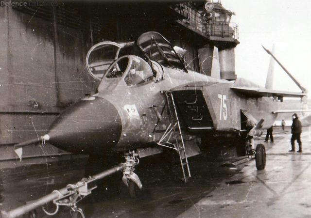 Yak 141 - VTOL para a Marinha da Rússia?