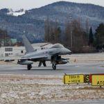 Caças Eurofighter e Hornet para proteger Davos em 2018