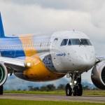 Embraer divulga melhorias nas especificações do E190-E2