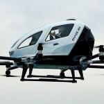 VÍDEO: Drone autônomo chinês EHang 184 é o primeiro do mundo a transportar passageiros
