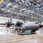 IMAGENS: RAF inaugura enorme hangar para apoio aos A400M Atlas
