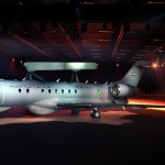 IMAGENS: Saab apresenta o primeiro GlobalEye AEW&C
