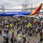 Boeing reconhecida pelo Guinness World Records por 10.000 aeronaves 737 produzidas