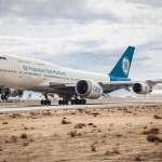 """IMAGENS: Novo motor GE9X do 777X """"decola"""" pela primeira vez"""