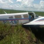 Aeronaves da FAB realizam interceptação de avião com drogas