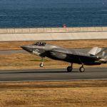 Caça F-35B do USMC faz pouso de emergência no Japão