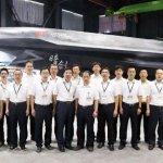AVIC divulga primeira imagem do drone furtivo Dark Sword