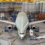 Airbus BelugaXL passa pelo teste de vibração no solo