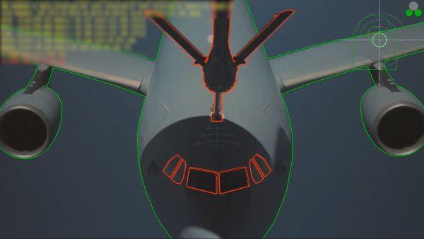 A3R AUTOMATED TRACKING A310 KC30 4 600x338 - VÍDEO: Sistema automático de reabastecimento ar-ar realiza primeiro contato com aeronave de grande porte