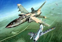 MiG 17 F 105 dogfight - ESPECIAIS