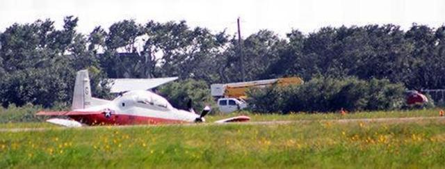 Navy T 6 Texan II crash - Incidente com T-6 da Marinha dos EUA