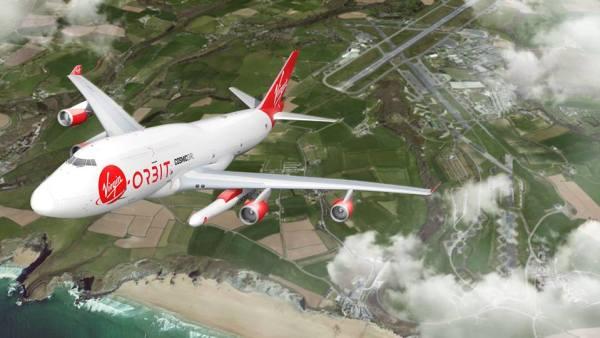 "40411135 2380685898624597 6404164557551435776 n 600x338 - IMAGENS: Virgin Orbit libera imagens do 747-400 ""Cosmic Girl"""