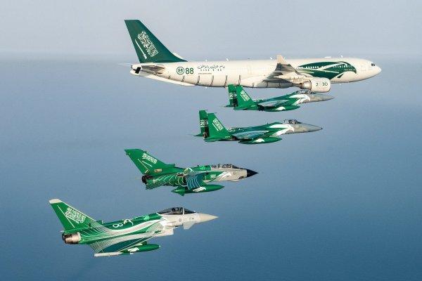Dnz1YqyXcAAtlGp.jpg large 600x400 - IMAGENS: Arábia Saudita comemora 88 anos e aeronaves da RSAF recebem pinturas especiais