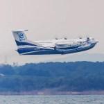 VÍDEO: Aeronave anfíbia AG600 realiza sua primeira decolagem na água