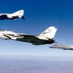 1987: Tomcats da Marinha dos EUA engajam Phantoms do Irã