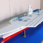 Fabricante russo de navios apresenta seu conceito de porta-aviões catamarã