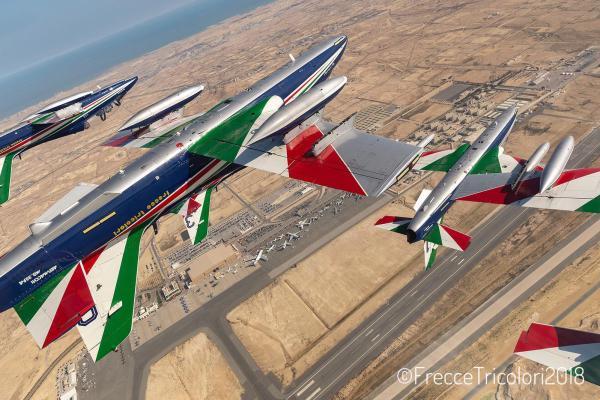 20181119 TourMedioOriente Bahrein 1 600x400 - IMAGENS: Força Aérea Italiana conclui turnê de demonstrações pelo Oriente Médio