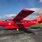 Corpo de Bombeiros de Rondônia recebe nova aeronave Cessna Grand Caravan EX