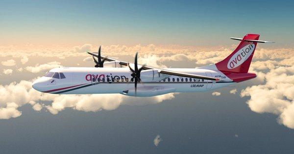 4pjS6Ass 600x314 - Empresa Avation confirma pedido de oito ATR 72-600 adicionais