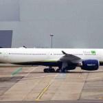 IMAGEM: Primeiro Airbus A330neo da Azul realiza testes de motores