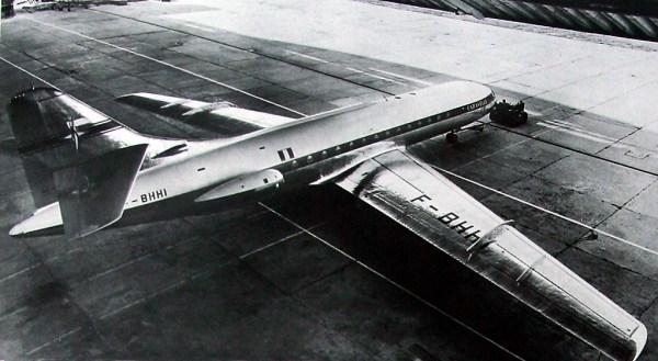 Caravelle n02 F BHHI 600x329 - Quando o protótipo do Caravelle visitou o Brasil pela primeira vez