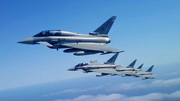 DA88C6BE E3DB 4D6F B6A8 D793FED24B98 600x338 - Alemanha e Espanha avaliam a compra de caças Eurofighter adicionais