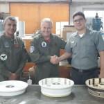 MARINHA: Base Aérea Naval de São Pedro da Aldeia realiza revisão geral de rodas dos jatos AF-1/1A