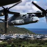 IMAGENS: Aeronaves A-10 e MV-22 realizam treinamento conjunto no Havaí