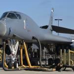 USAF suspende operações de voo de toda frota de bombardeiros B-1B Lancer