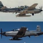 USAF comprará seis aeronaves de ataque leve para continuar experimentos