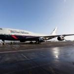 IMAGENS: British Airways apresenta terceira aeronave com pintura para celebrar seu centenário