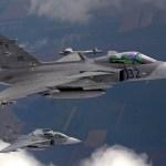 Gripens da Hungria assumem liderança da missão de policiamento aéreo da OTAN no Báltico