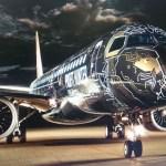 VÍDEO: Embraer apresenta a nova pintura Profit Hunter chamada de TechLion