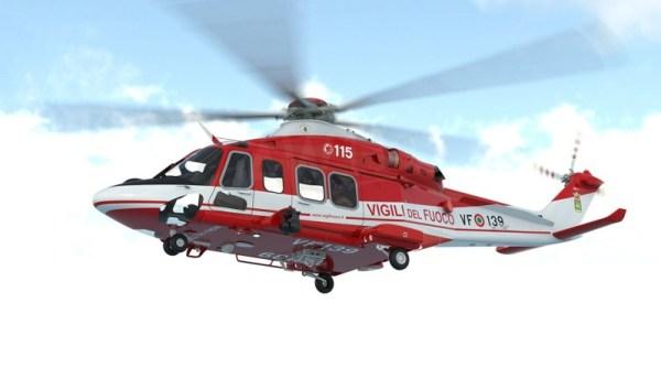 AW139 Italian National Fire Corps 600x334 - PARIS AIR SHOW: Corpo Nacional de Bombeiros da Itália encomenda cinco adicionais helicópteros AW139