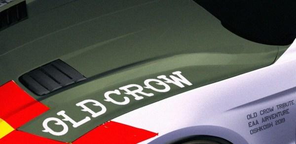 """Old Crow Mustang GT Design Rendering 600x291 - Prévia do Ford Mustang GT """"Old Crow"""" em homenagem ao ás da aviação Bud Anderson"""