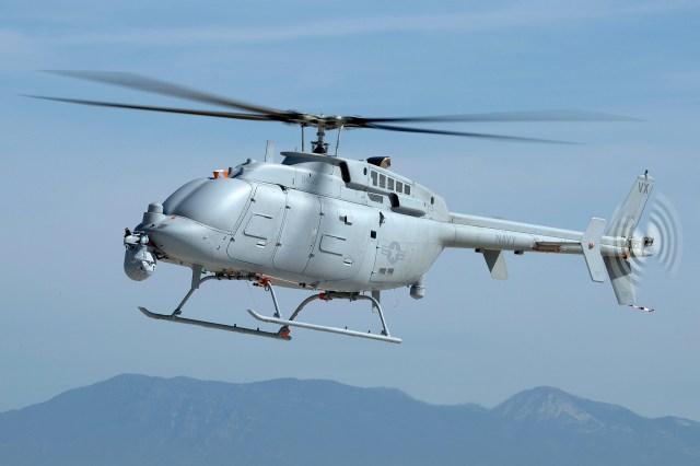 368162 - Marinha dos EUA pretende adquirir 38 helicópteros não tripulados MQ-8C Fire Scout