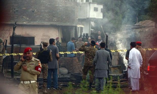 5022 - Acidente com avião militar do Paquistão
