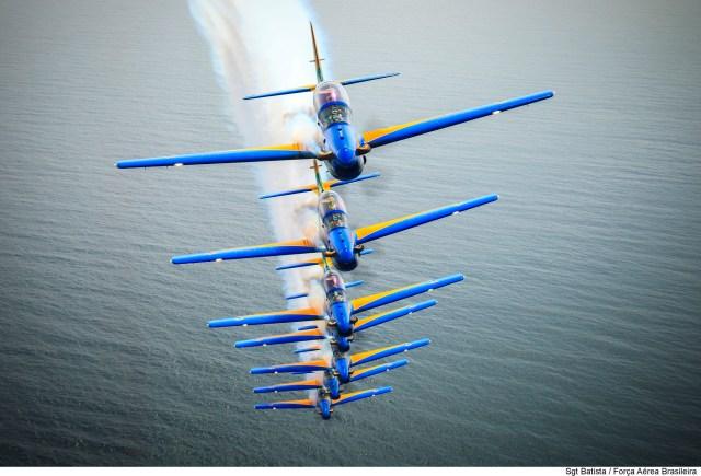 Esquadrilha da Fumaça1 - Há quatro anos, Esquadrilha da Fumaça estreava com o A-29