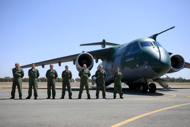 190904BIA3509 Bianca Viol - IMAGENS: Em detalhes, como foi a entrega do primeiro KC-390 para FAB