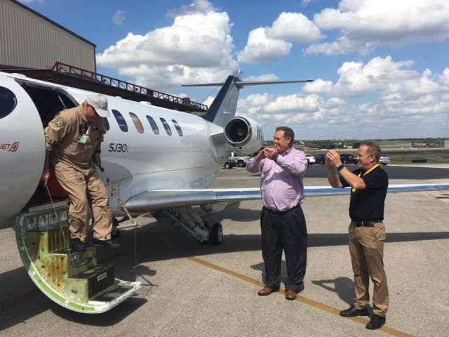 72609679 2498808893507896 1199796996718723072 n - NBAA: SyberJet conclui primeiro voo da aeronave SJ30i