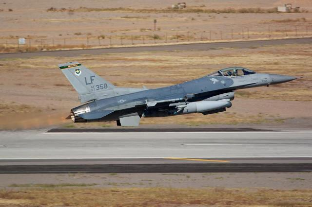 87 0358 92300839 - Acidente com caça F-16 da USAF