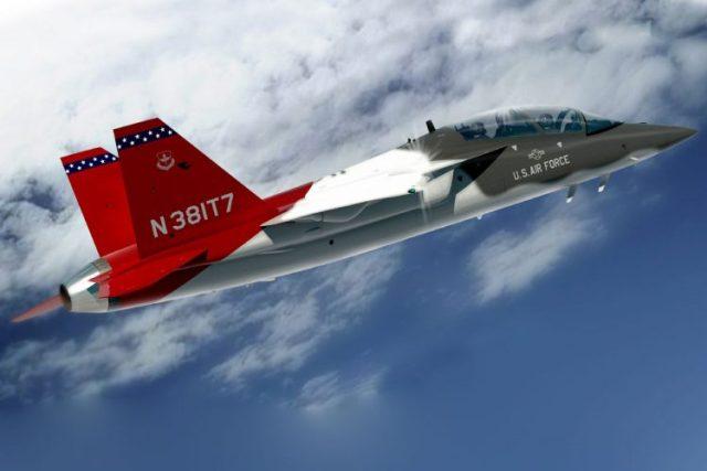 t 7 red hawk 750x500 - VÍDEO: Jato T-7A Red Hawk voando baixo e em alta velocidade