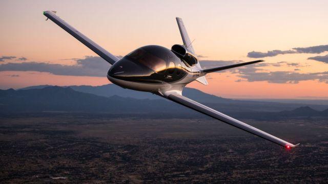 01 cirrus aircraft - Cirrus Vision Jet é o primeiro jato privado que pode pousar sozinho