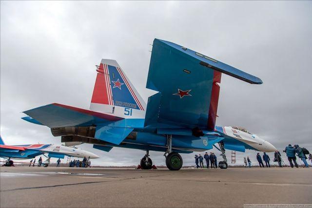 72202222 3368625276511377 9163343477981839360 o - IMAGENS E VÍDEO: Equipe Russian Knights recebe oficialmente seus quatro novos Su-35S
