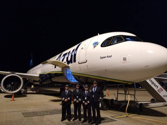 76730719 10156339328777234 5735325458212323328 o - Azul Linhas Aéreas recebe sua primeira aeronaves Airbus A321neo