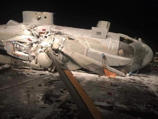 EIuQDcHWkAA Vd7 - Acidente com helicóptero AW101 da Marinha Italiana