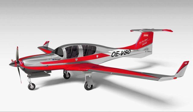 csm DA50 CD300 Var B 0504 2019 HA ROT METALLIC KORR 9cf8140538 1442x840 - Primeiro voo da aeronave Diamond Aircraft DA50 com trem de pouso retrátil
