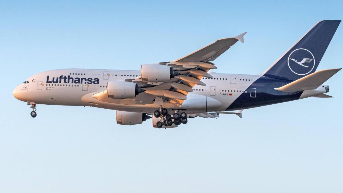 Lufthansa pretende reduzir em até 50% os seus voos, incluindo todos voos com os A380